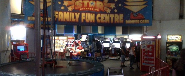 London's New Arcade – 'Star Attraction- Family Fun Center'