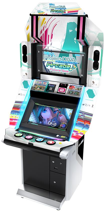 Arcade Heroes Music Arcade Games Now: Sega's Project DIVA
