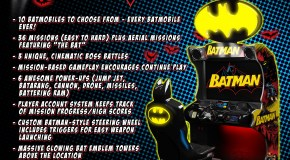Check Out the Batman Arcade Flyer
