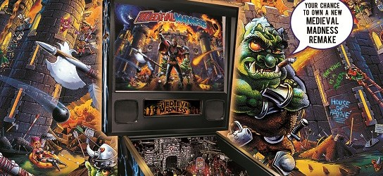 Stern Offers Their Factory To Build Medieval Madness Pinball Remakes