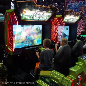 Allied Tank Attack Dual at IAAPA 2013