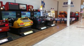 The Sega Active Zone In Westfield Derby Shopping Centre, UK