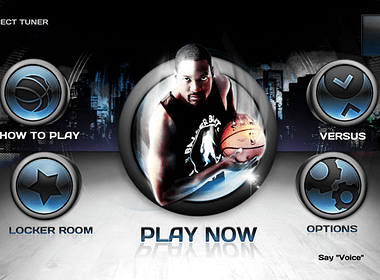 NBA Baller Beats Main Menu