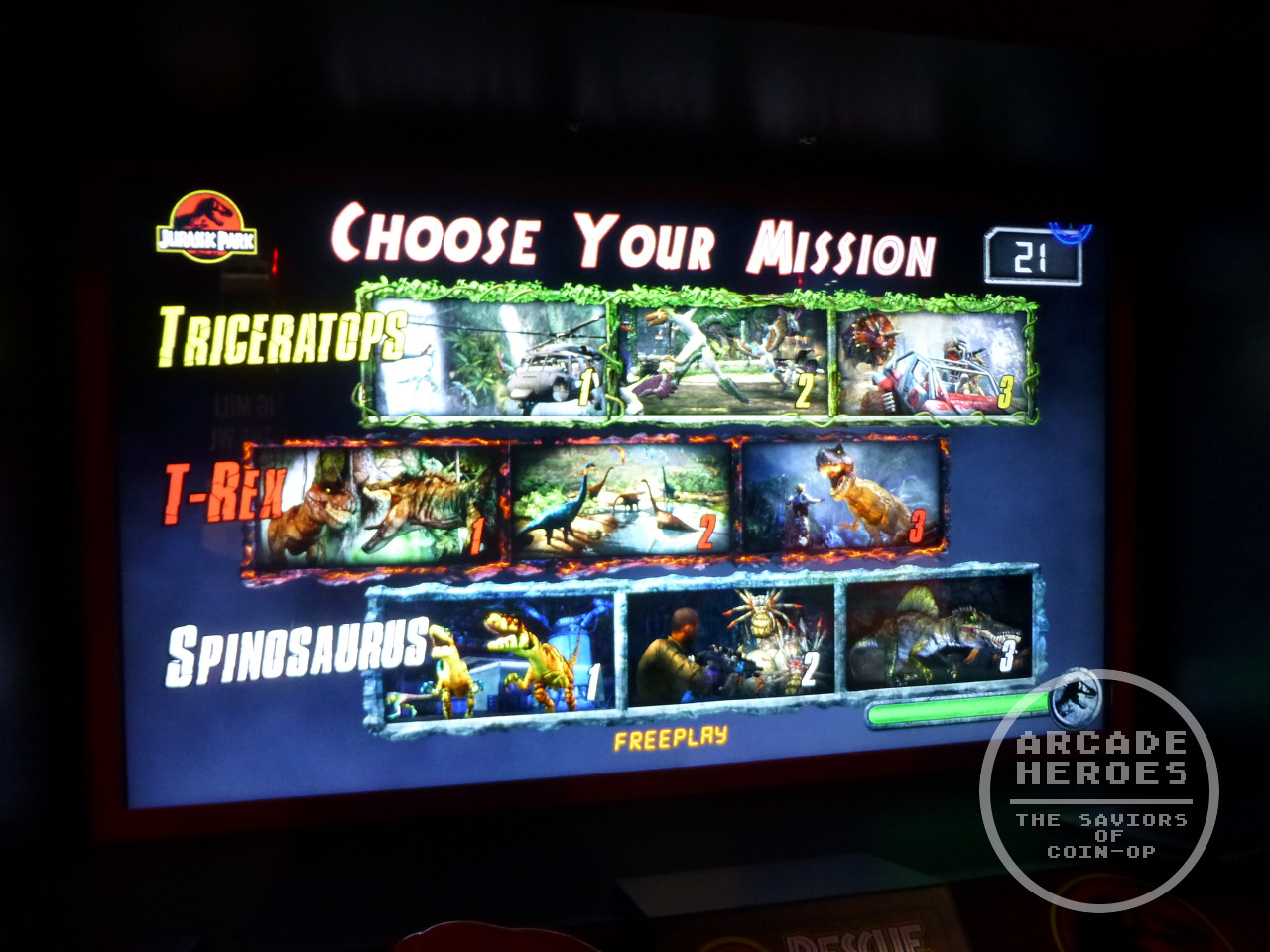 Arcade Heroes Q&A On Jurassic Park Arcade With Eugene Jarvis ...