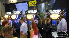 IAAPA 2014 Day 2: Star Wars Battle Pod, Showdown, Jurassic Park, Pump It Up PRIME 2015,Candy Crush Saga + More