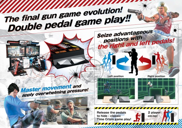 Time Crisis 5 Brochure B