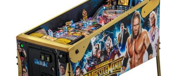 Stern Pinball Unveils The Legends of WrestleMania Pinball LE