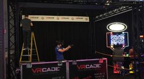 New VRCade Experience Testing At Dave & Busters in Milpitas, CA
