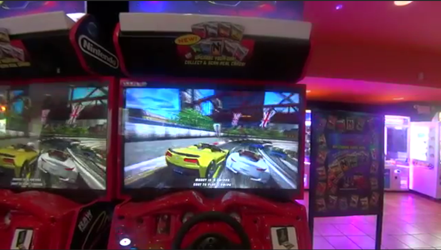 Arcade Heroes First Footage Of The New Cruis'n Redline by