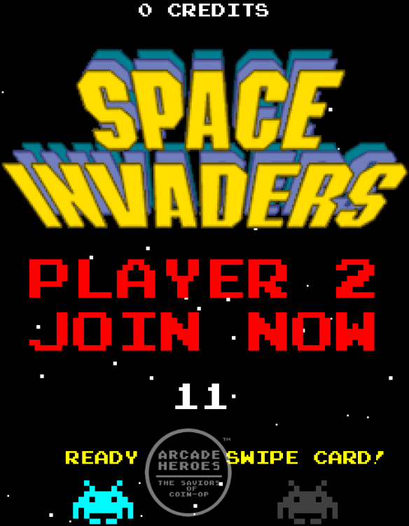 Space Invaders Frenzy join in screen