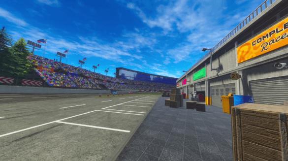 Three-Seven Speedway pitstop