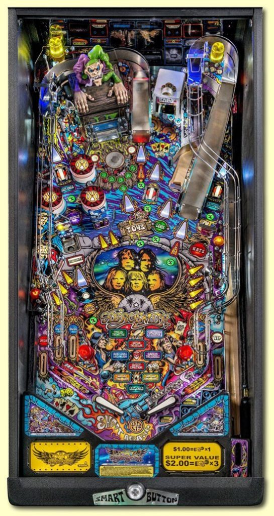 Aerosmith Pinball Pro Playfield