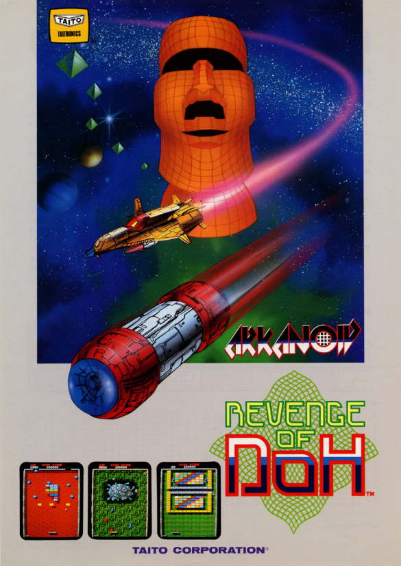 Arkanoid - Revenge of Doh Flyer
