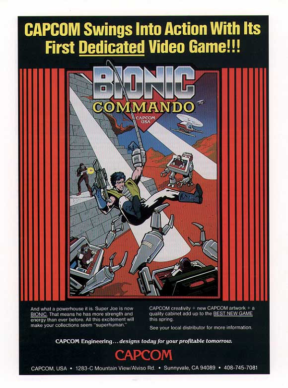 Bionic Commando US flyer