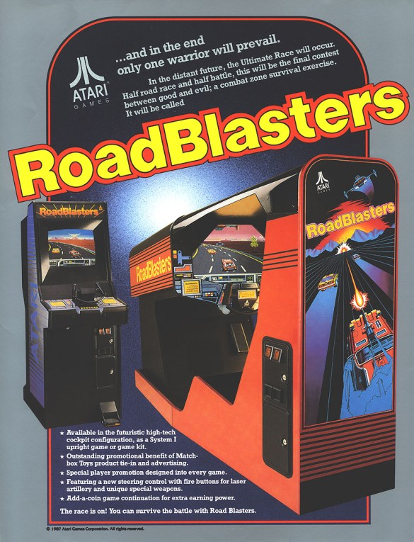 RoadBlasters Flyer