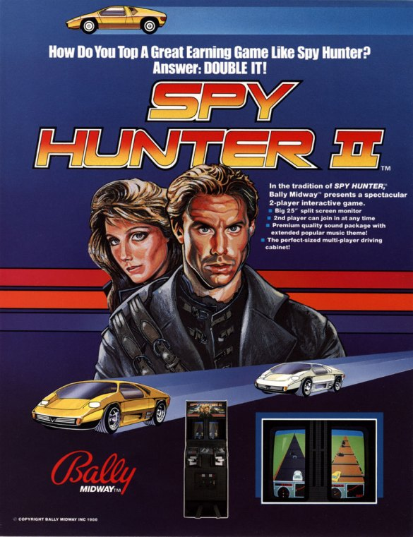 Spy Hunter II Flyer