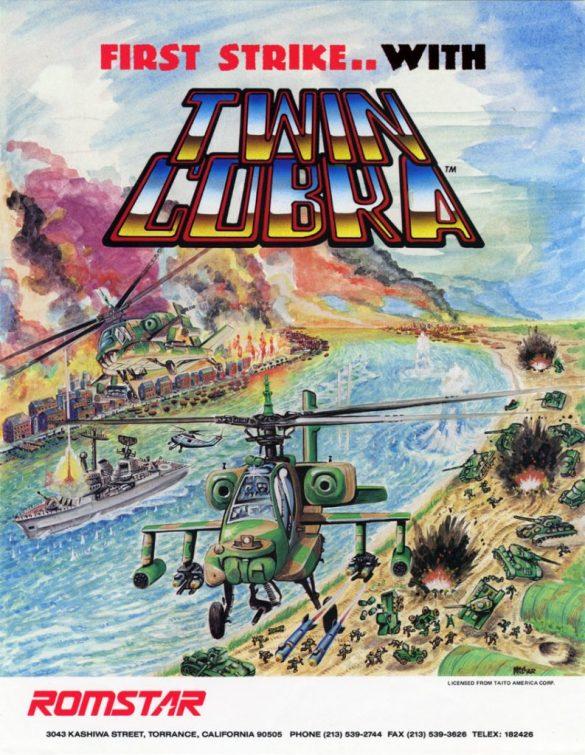 Twin Cobra Flyer