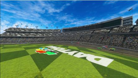 Daytona International Speedway course