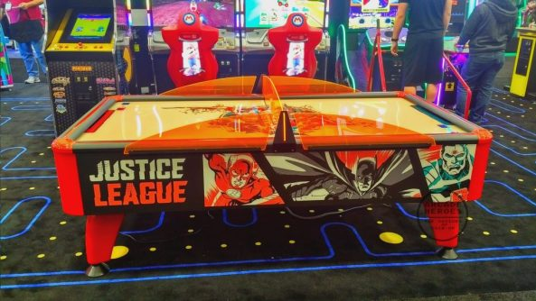 Justice League Air Hockey Prototype