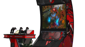 Sneak Peek: Nex Machina Death Machine Arcade In Cabinet Form