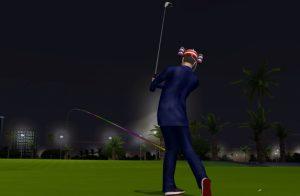Golden Tee 2018 golfer
