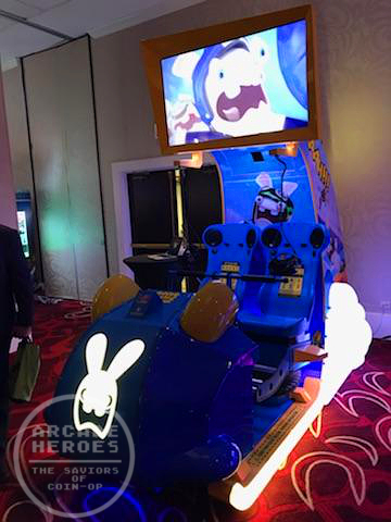 Rabbids VR roller coaster ride by LAI Games
