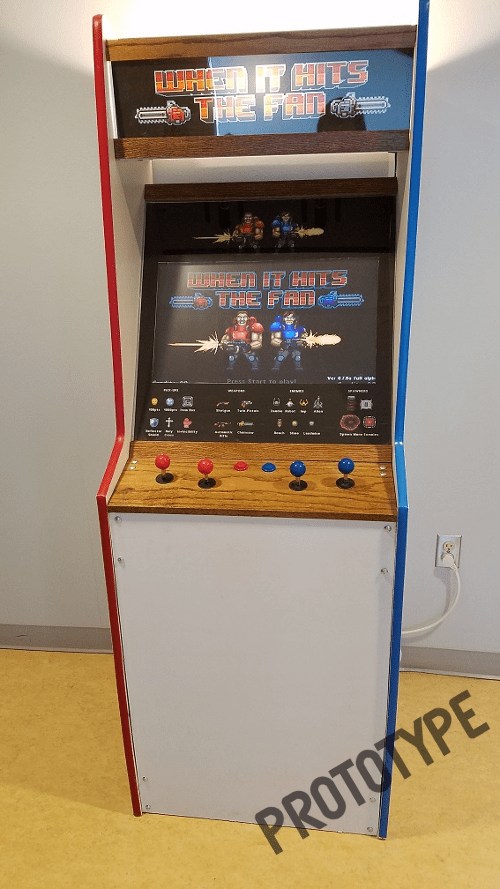 When It Hits The Fan Arcade Prototype