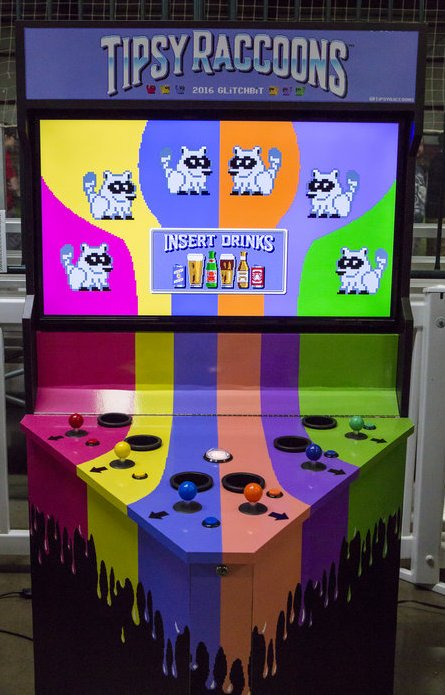 Arcade Heroes Just for Bar/Arcades In 2018: Tipsy Raccoons ... | Best image of best arcade game 2018