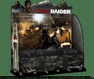 Tomb Raider Arcade by Adrenaline Amusements