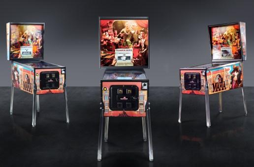 A New Pinball Manufacturer Appears: Team Pinball