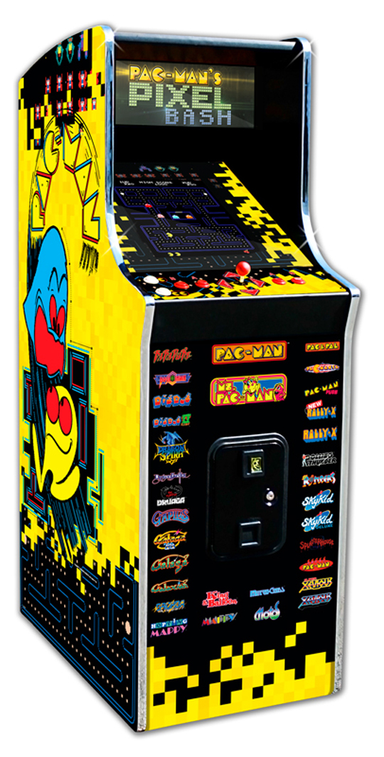 Pac-Man's Pixel Bash cabaret model, Bandai Namco Amusements
