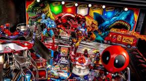 Newsbytes: Deadpool Pinball Gameplay; Galaga World Championship; Tipsy Raccoons; Bombergirl & more