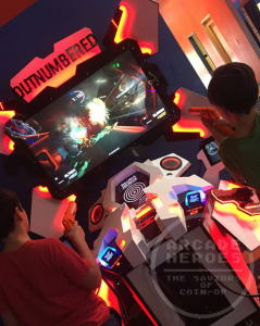 Outnumbered arcade game on location test, LAI Games