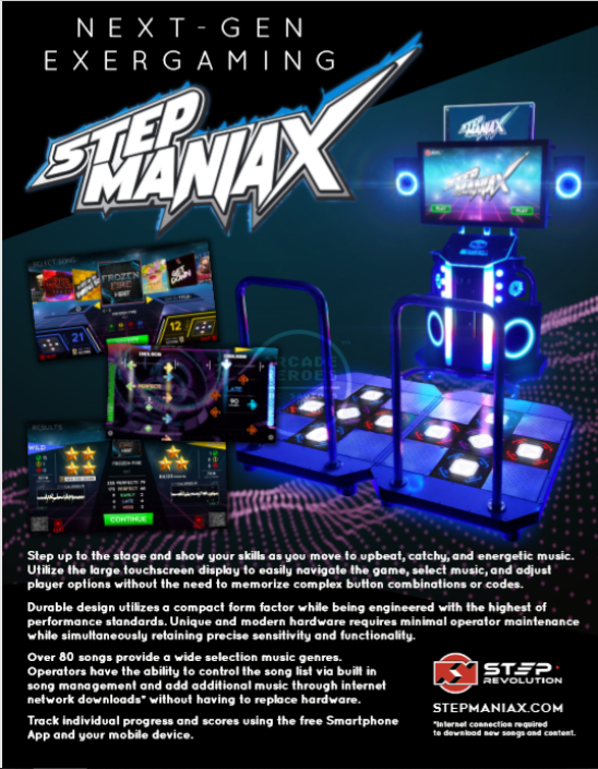Step ManiaX Flyer (watermarked)