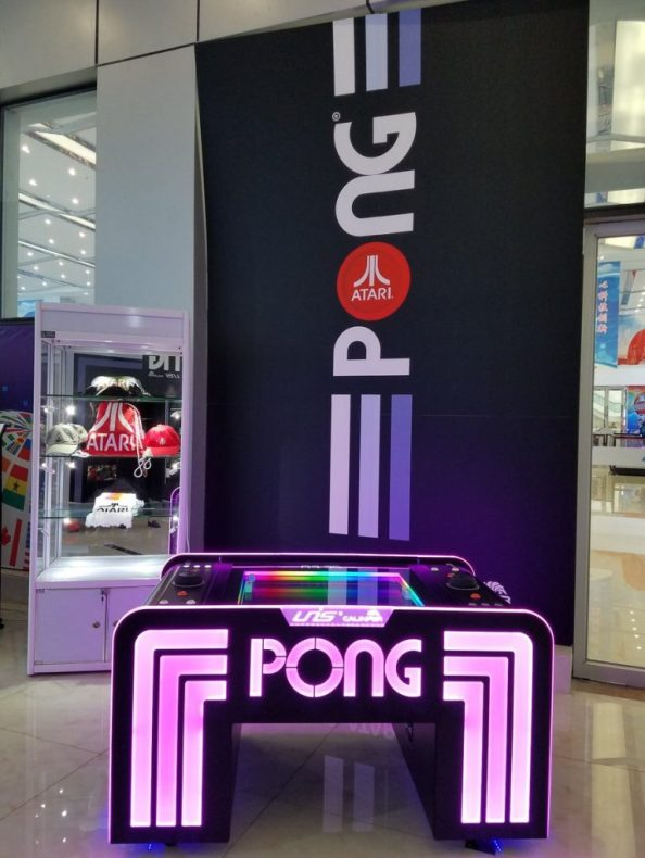 Atari Pong Arcade Table