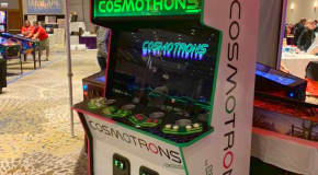 Arcadeaholics & VP Cabs Team Up To Produce A New Cosmotrons Cabinet
