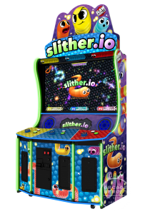 Slither.io Arcade cabinet by Raw Thrills