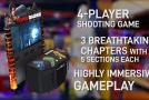 Adrenaline Amusements Announces 65″ Version Of Tomb Raider Arcade