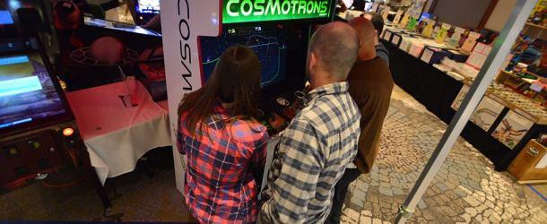Games Not At IAAPA 2018: Cosmotrons; Exa-Arcadia; Oktoberfest; Racecraft; Step ManiaX; Tipsy Raccoons