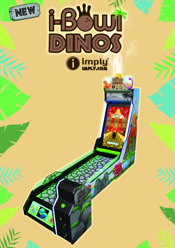 I-Bowl Dinos bowling game by Imply