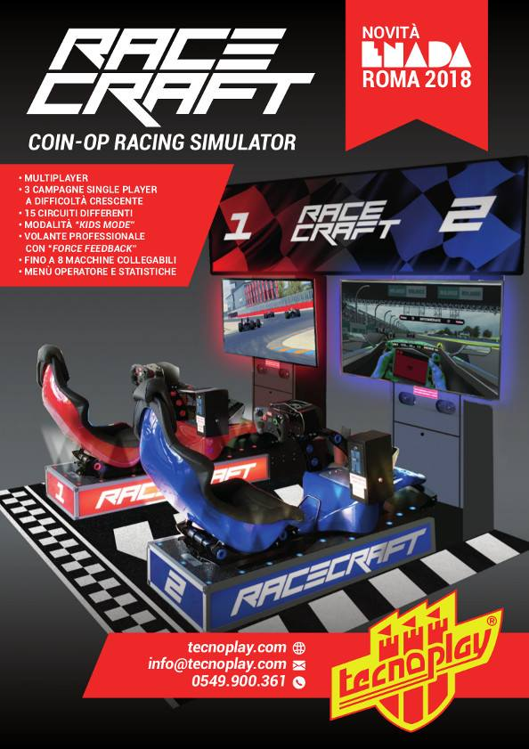 Racecraft Flyer (Italian)