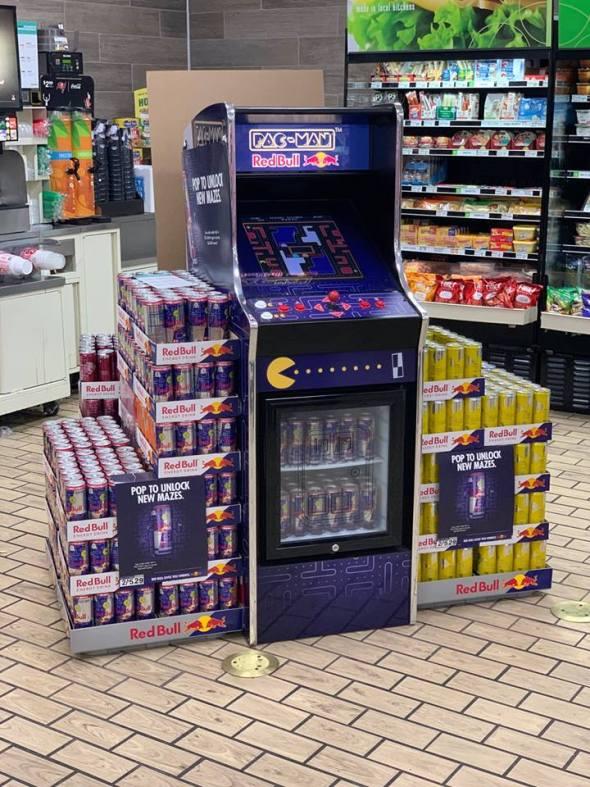 Red Bull Pac-Man Pixel Bash