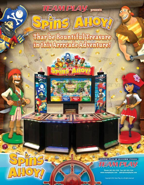 Spins Ahoy! flyer