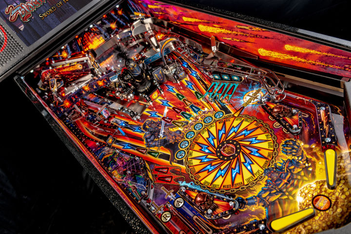 Arcade Heroes Stern Pinball Fully Unveils Black Knight