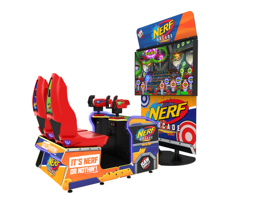 NERF Arcade by Hasbro and Raw Thrills