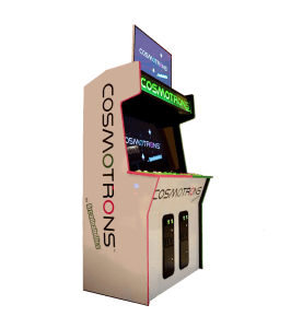 "Cosmotrons ""Woody"" cabinet"