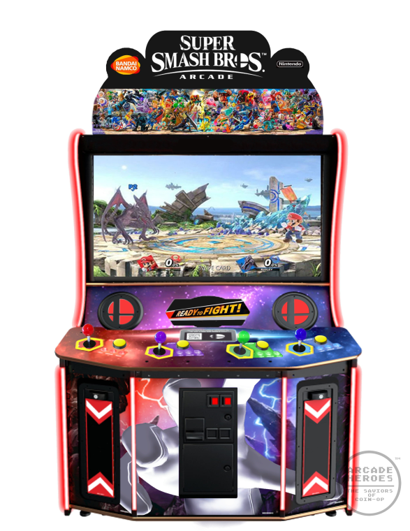 Super Smash Bros. Arcade by APRIL FOOLS