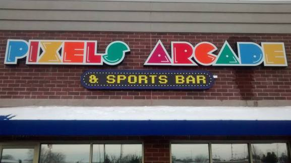 Pixels Arcade & Sports Bar in Oshkosh, WI