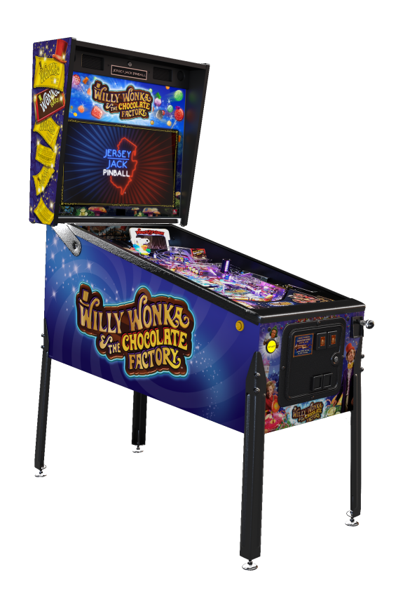 Willy Wonka & The Chocolate Factory by Jersey Jack Pinball