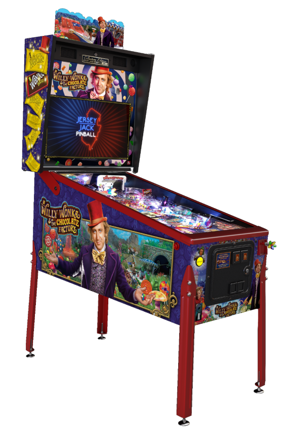 Willy Wonka & The Chocolate Factory CE by Jersey Jack Pinball